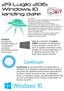 Windows 10 | AmicoBIT Computer Montecatini