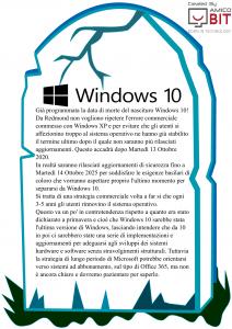 Sistema Operativo | win 10 RIP - AmicoBIT Computer Montecatini