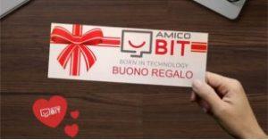 Buono regalo per appassionati di informatica - Amico bit Montecatini